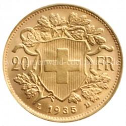 Helvetia 20 Franken