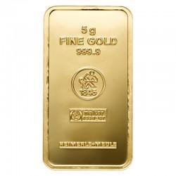 Goldbarren 5 g