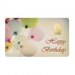 """1 g Geschenkkarte """"Happy..."""