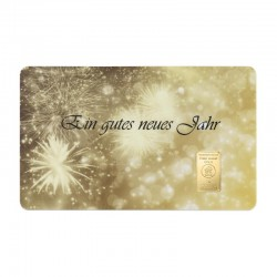 """1 g Geschenkkarte """"Neues Jahr"""""""