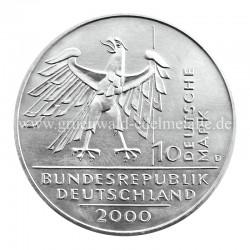 10 Jahre Deutsche Einheit    2000 - Rückseite